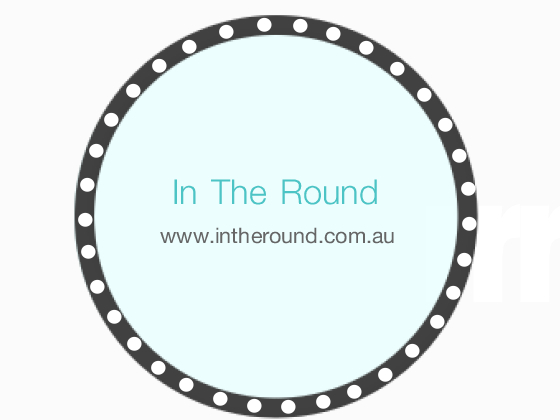 In The Round Logo!